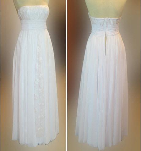 Простое платье своими руками свадебное платье 17